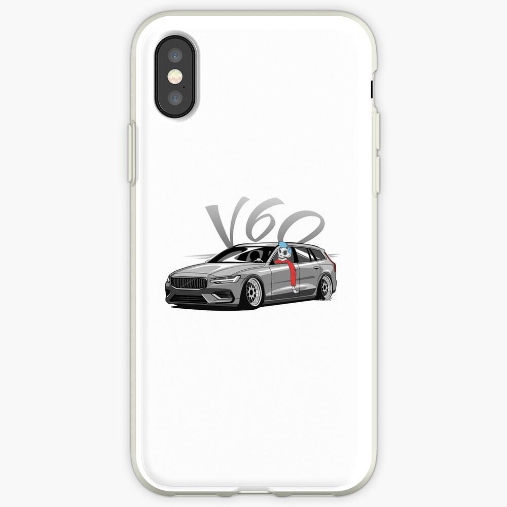 V60 Skulldriver Low Style Funda y vinilo para iPhone