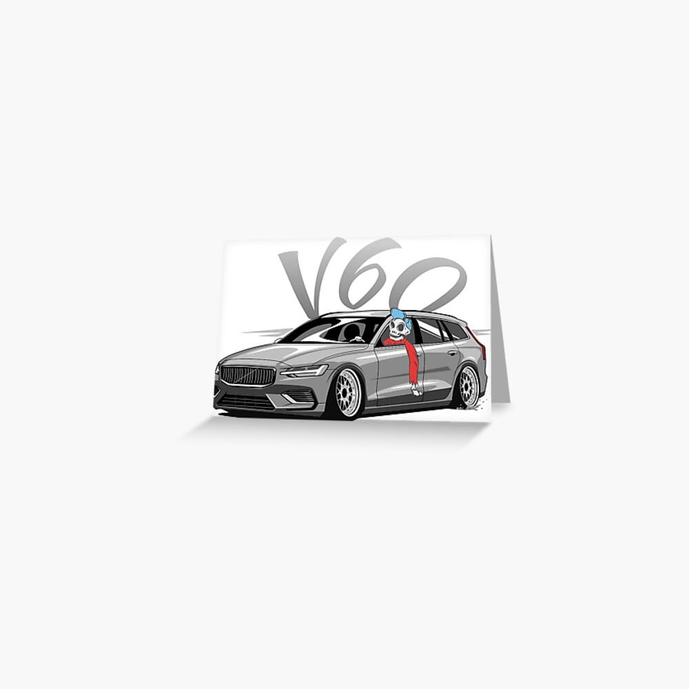 V60 Skulldriver Low Style Tarjetas de felicitación