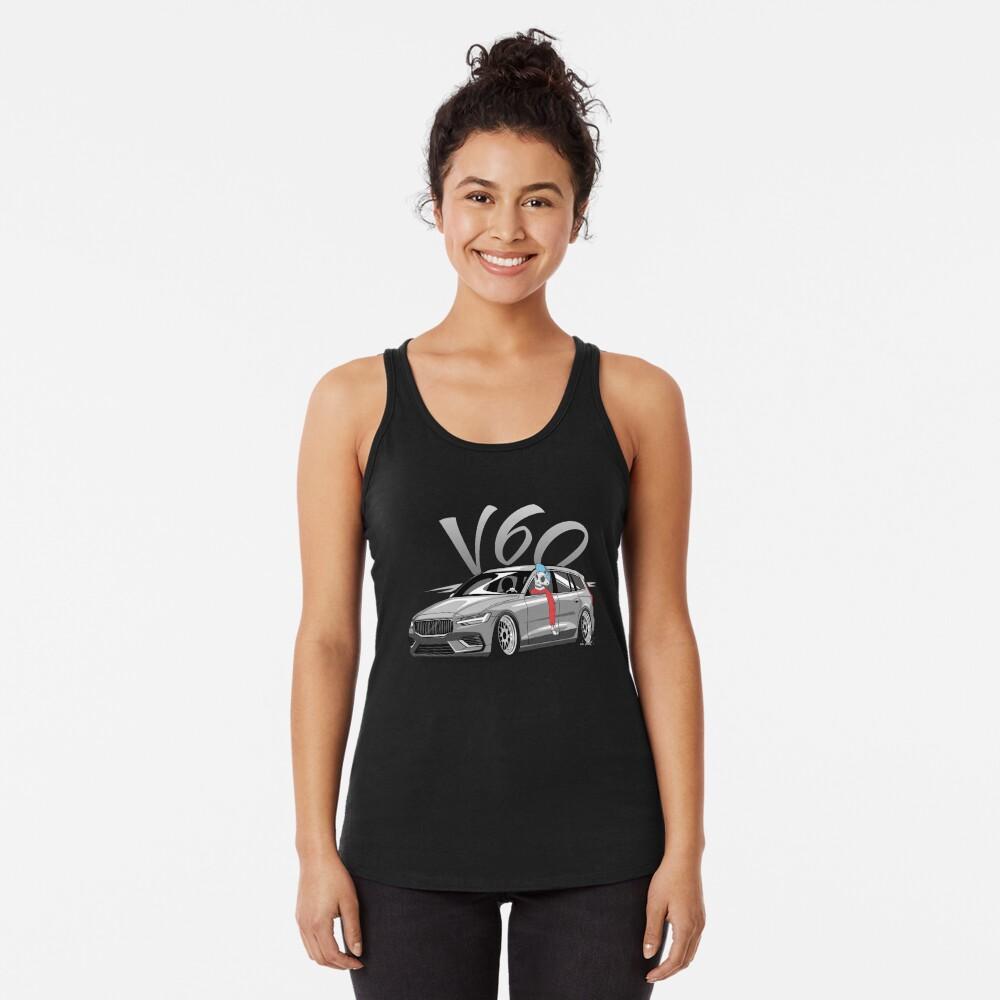 V60 Skulldriver Low Style Camiseta con espalda nadadora