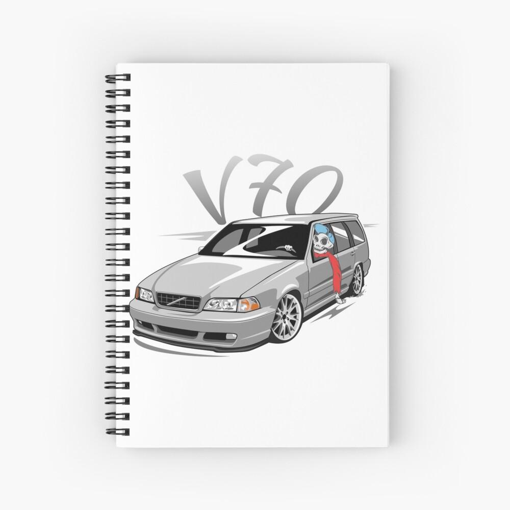 V70 Skulldriver Low Style Cuaderno de espiral