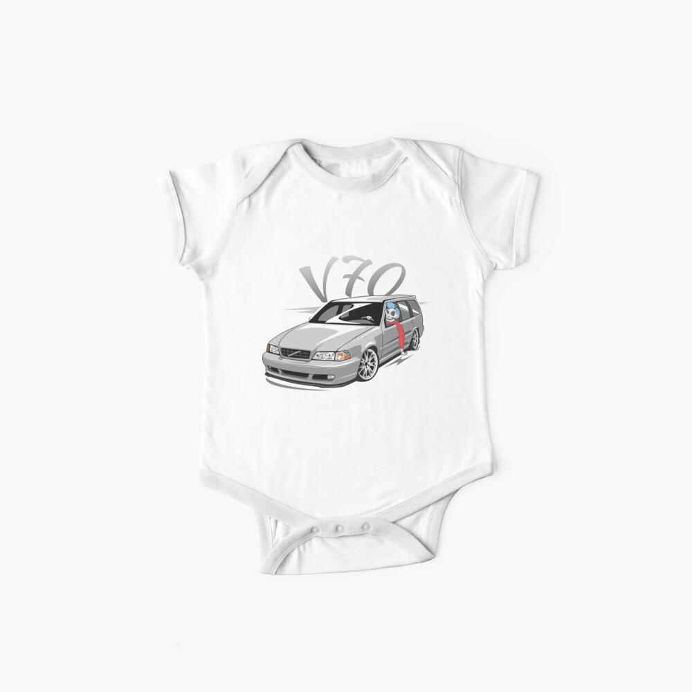 V70 Skulldriver Low Style Body para bebé