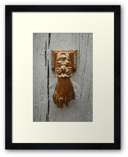 Knock, knock... by Jeanne Horak-Druiff
