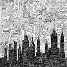 New York Doodle by NeleVdM
