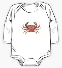 Dungeness Crab (Metacarcinus magister) One Piece - Long Sleeve