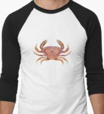 Dungeness Crab (Metacarcinus magister) Men's Baseball ¾ T-Shirt