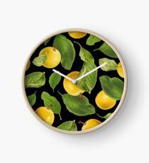 Botanical Vintage Fruit Clock