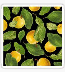 Botanical Vintage Fruit Sticker