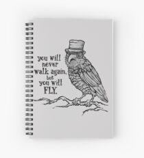 Three-eyed Raven Spiral Notebook