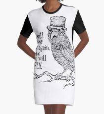 Three-eyed Raven Graphic T-Shirt Dress