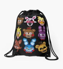 Five Nights Drawstring Bag