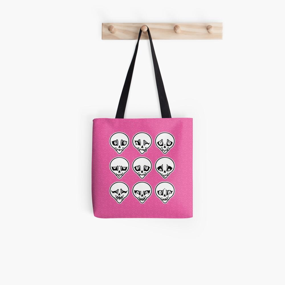 Skull Feels (Pink Version) Tote Bag