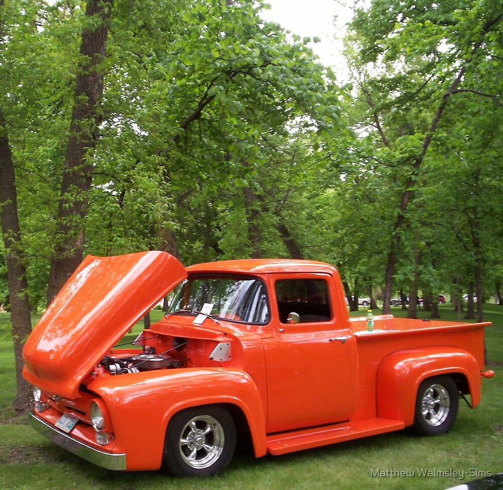 1950's Ford Pickup by Matthew Walmsley-Sims