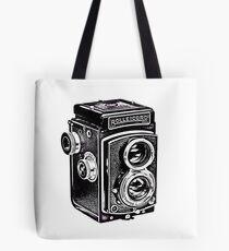 Rolleicord Twin Reflex Camera Tote Bag