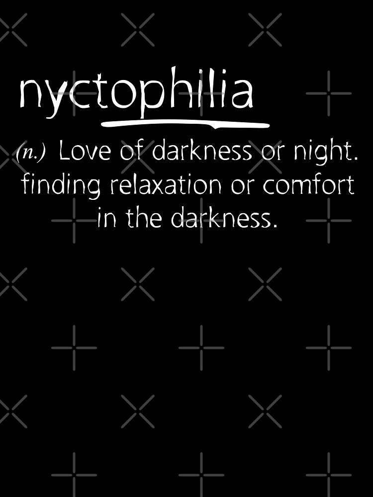 Nyctophilia Meaning Baby One Piece By Ikaroots Redbubble