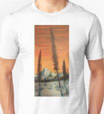 Pillars in the sunset T-Shirt