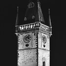 Old Tower at night by Lenka Vorackova