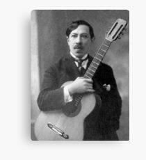 Augustin Barrios - Brilliant Paraguayan Guitarist and Composer Canvas Print
