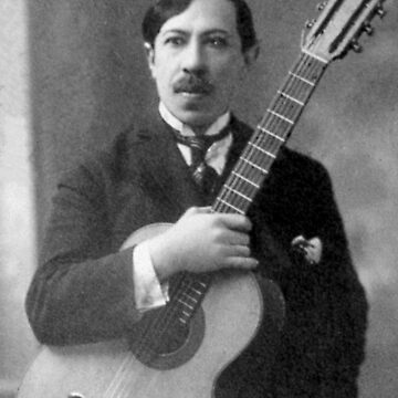 Augustin Barrios - Brilliant Paraguayan Guitarist and Composer by Thornepalmer