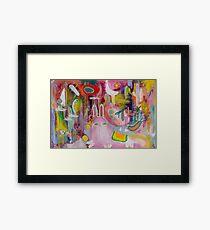 Marika Flowers & the Magical Forest Framed Print