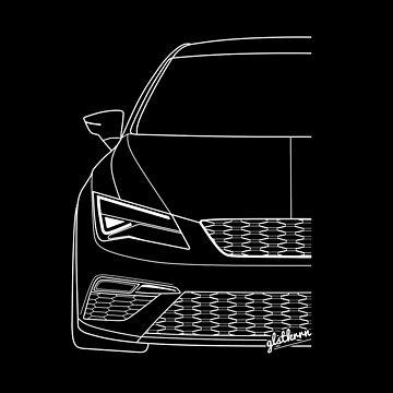 Leon 5F FR facelift silhouette by glstkrrn