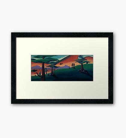 Seaplane Framed Print