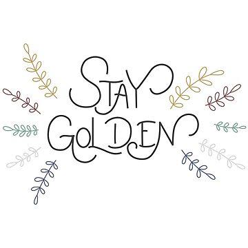 Mantente dorado de kelseyhaver