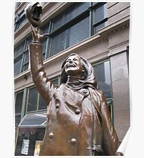 Mary Tyler Moore, Nicollet Mall, Minneapolis Poster