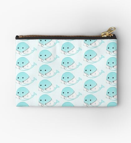 Get WHALE soon - Get well soon - Whale Doctor - Whale Nurse - Whale Pun - Gifts for Doctors - Hospital - GP - Whale puns Zipper Pouch