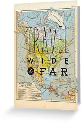 «Viaje ancho y lejano - América del Norte» de Hannahkaypiche