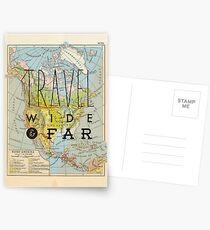 Travel Wide & Far - North America Postcards