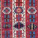 Malatya Antique East Anatolia Kurdish Kilim  by Vicky Brago-Mitchell