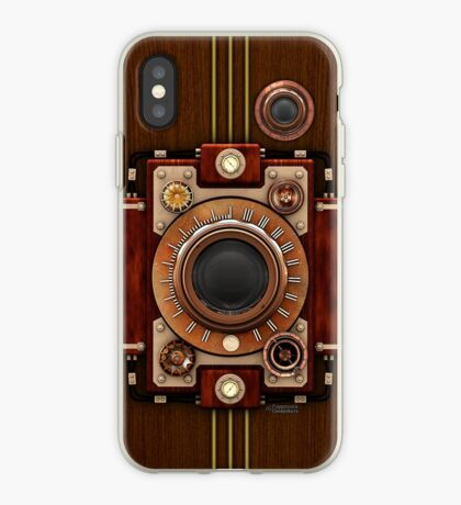 Vintage Steampunk Camera No.1A Steampunk phone cases iPhone Case