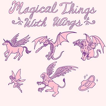 Magical Things With Wings by wytrab8