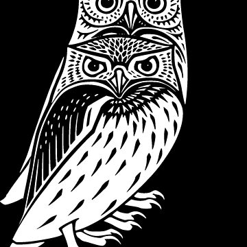 Owl Double Trouble by realmatdesign
