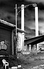 Bolte Bridge over shed 21 by Andrew Wilson