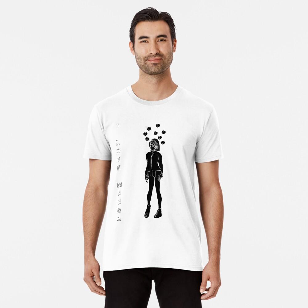 Silhouetten Manga Shirt Premium T-Shirt