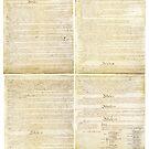 Originalscan der Verfassung der Vereinigten Staaten Seite 1-4 von allhistory