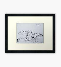 war series #9 Framed Print