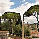 The Distant Hills Of Rome by Fara
