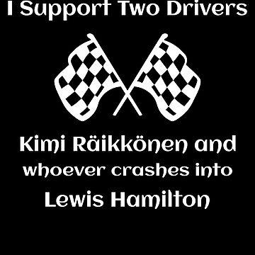 Kimi Raikkonen Wrecks Lewis Hamilton Formula One  by itsmwaura
