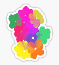 Magic Flowers Sticker