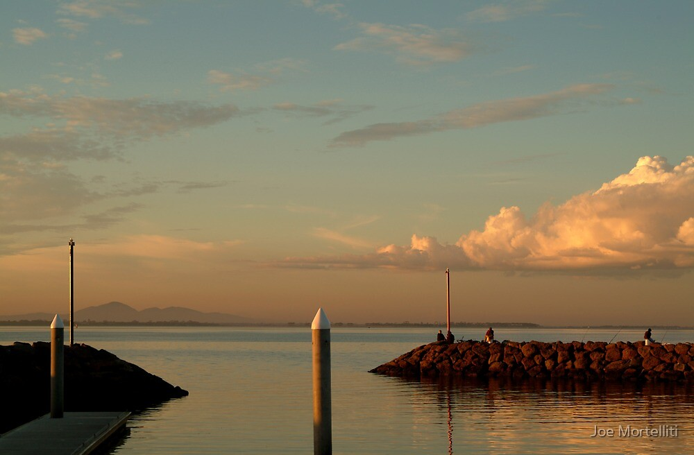 Last Ray's Limberners Point,Geelong by Joe Mortelliti