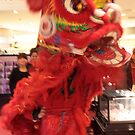 Lion dance in department store 2 by maka1967