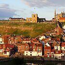 Evening Sunshine in Whitby by dilouise