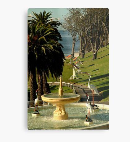 Fountain,Eastern Beach Metal Print