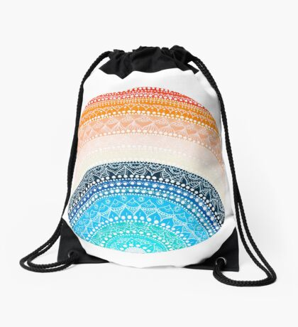 Mandala 1 Drawstring Bag