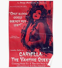 Carmilla: The Vampire Queen Poster
