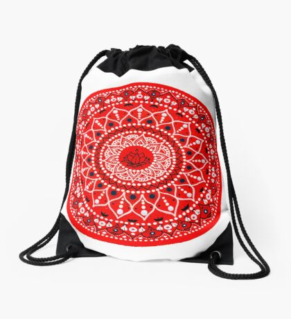 Mandala Drawstring Bag