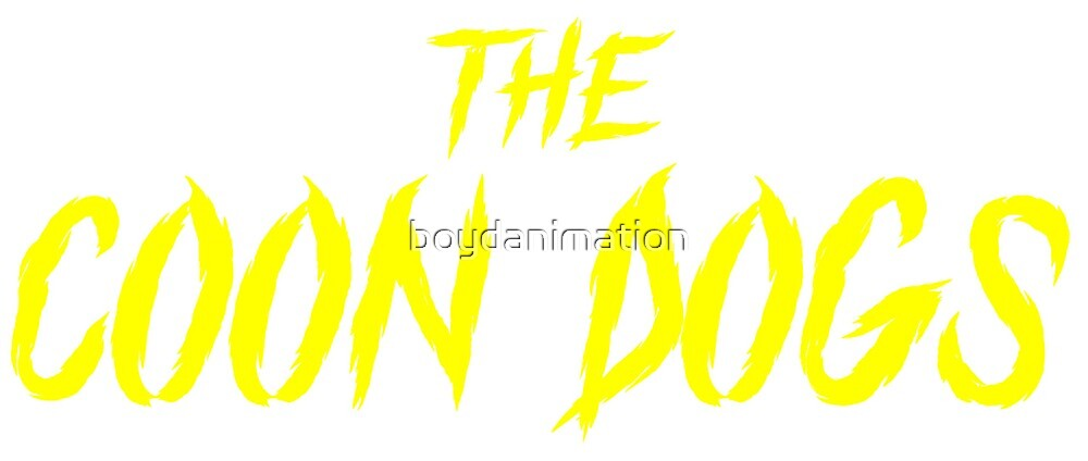 The Coon Dogs Logo by boydanimation