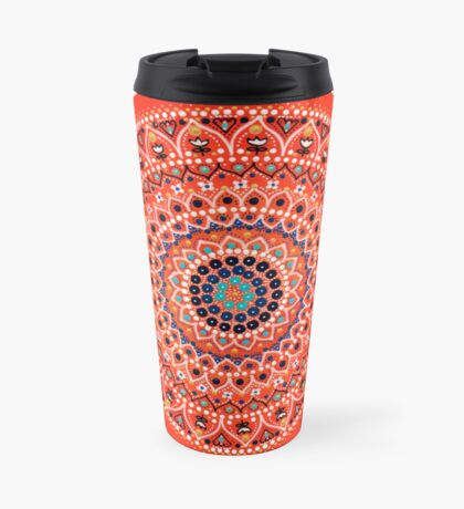Mandala 3 Travel Mug